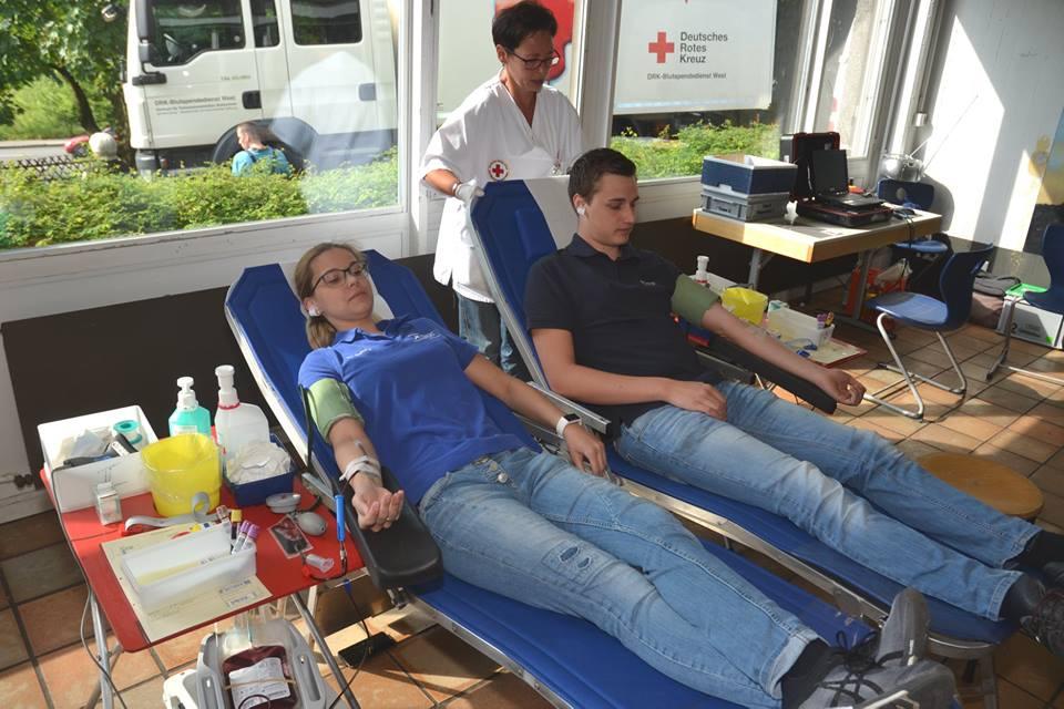 Spende Blut – rette Leben!