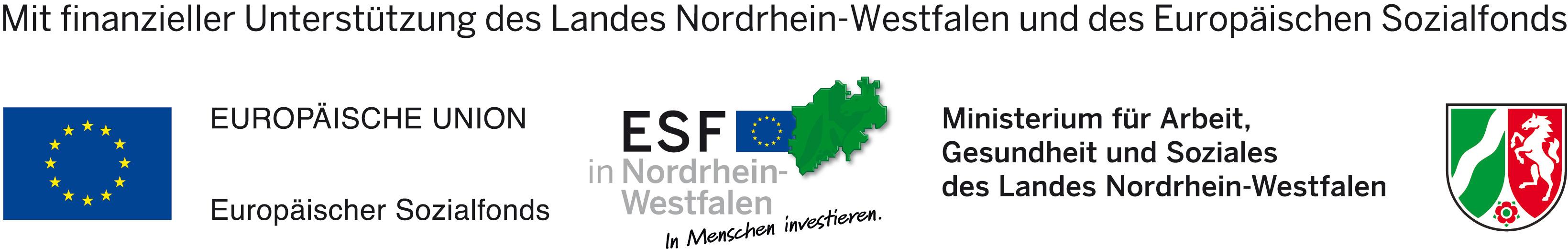 Ausbildungsprogramm NRW_Logos