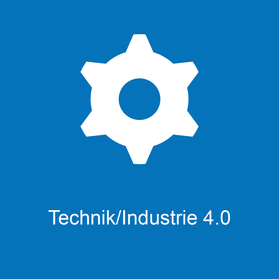 Weiterbildung - Technik/Industrie 4.0